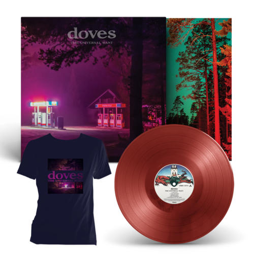 Doves: The Universal Want Exclusive LP + T-Shirt