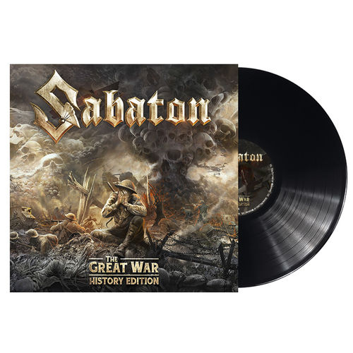 Sabaton: The Great War (History Edition): Limited Edition 180gm Gatefold Vinyl with Signed Insert