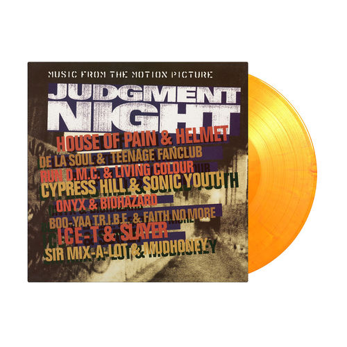 Original Soundtrack: Judgment Night: Limited Edition Orange & Yellow Swirl Vinyl