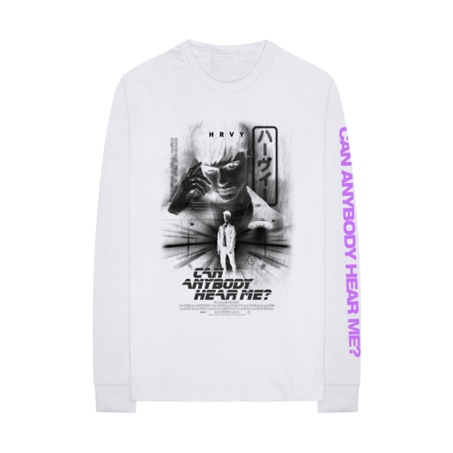 HRVY: HRVY - White Long Sleeve