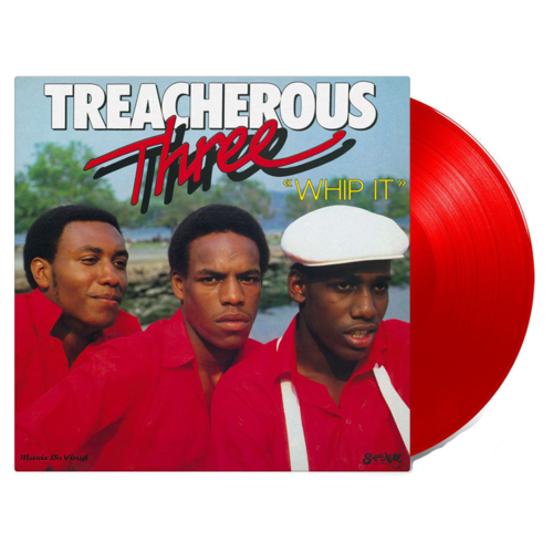 Treacherous Three: Whip It: Limited Edition Red Vinyl
