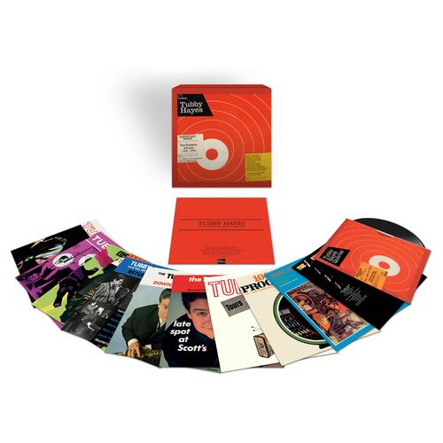 Tubby Hayes: The Fontana Albums (1961-1969): Vinyl Box Set