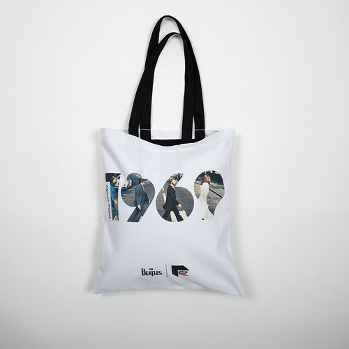 Abbey Road Studios: The Beatles Abbey Road 1969 Tote Bag