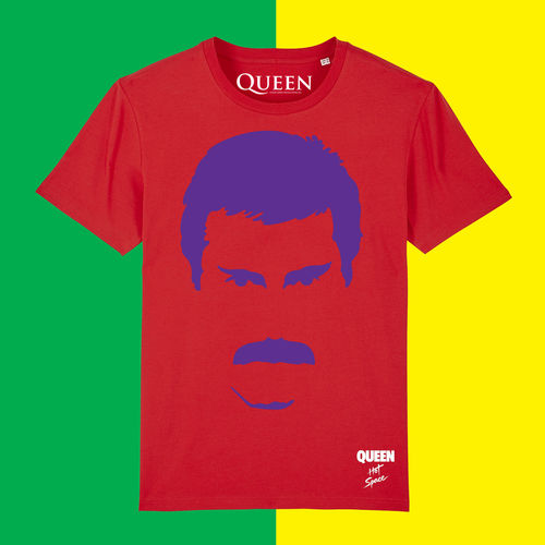 Queen: Limited Edition Hot Space Freddie T-Shirt
