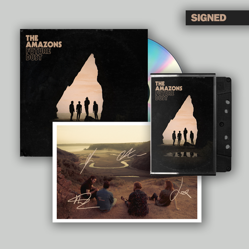 The Amazons: CD, Cassette & Signed Postcard