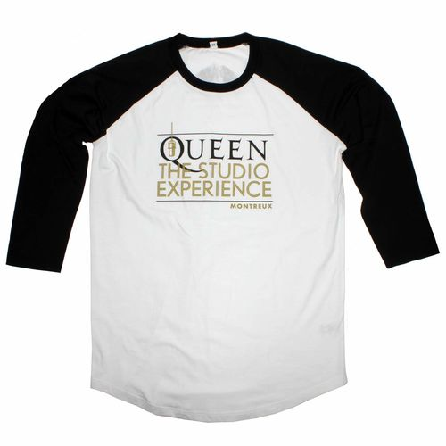 Queen The Studio Experience: Queen The Studio Experience Baseball Shirt - X-Large