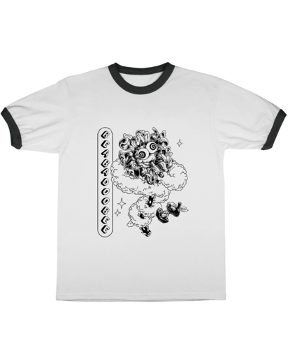 Beabadoobee: LIMITED EDITION @CHUBBYPUMPERS RINGER TEE 2
