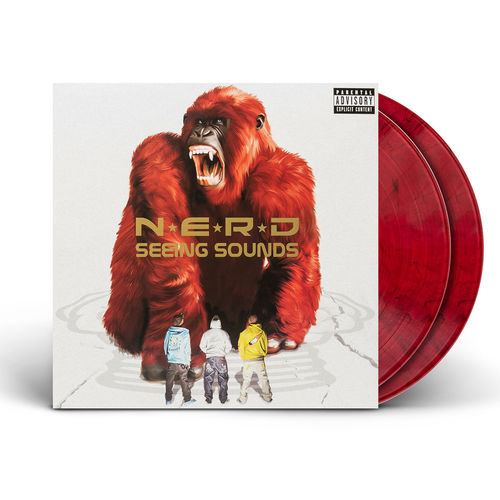 N.E.R.D: Seeing Sounds (2LP Red Marble)