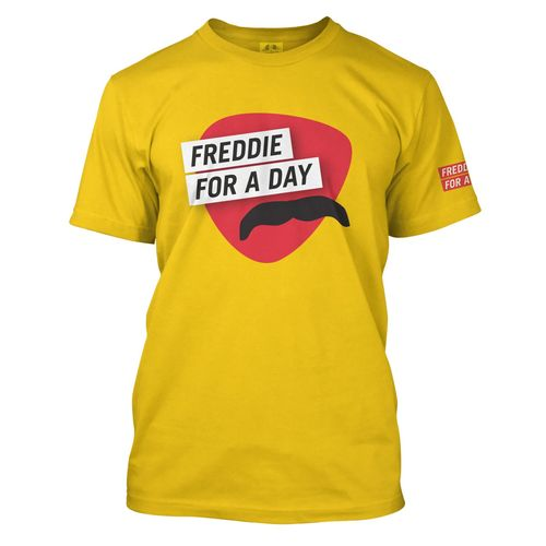 Freddie For A Day: Freddie For A Day Yellow T-Shirt - Small