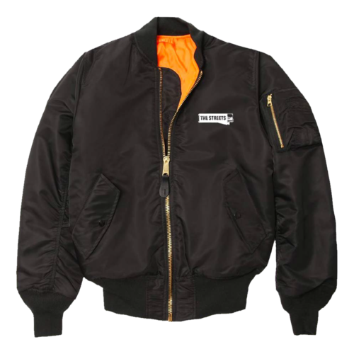 The Streets: The Streets: Classic MA1 Flight Jacket