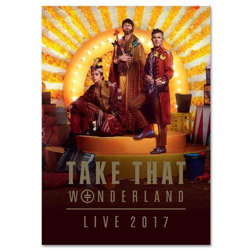 takethat: Wonderland 2017 Tour Programme