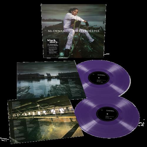 Ms Dynamite: A Little Deeper: Limited Edition Purple Vinyl