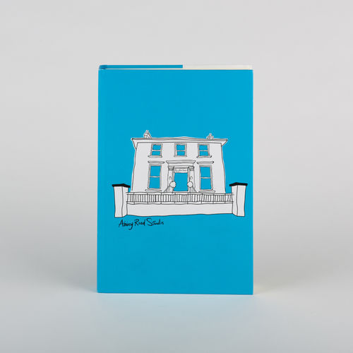 Abbey Road Studios: Abbey Road House Hardback Notebook Blue A5