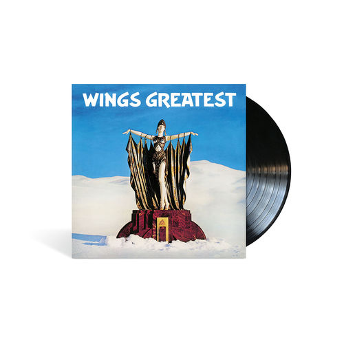Wings: Wings Greatest - Black LP