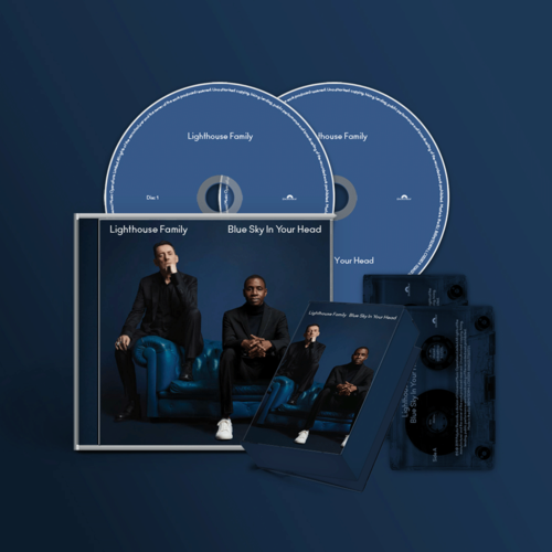Lighthouse Family: Blue Sky In Your Head CD & Cassette Bundle