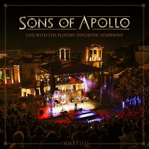 Sons of Apollo: Live With the Plovdiv Psychotic Symphony: Limited Deluxe 3CD + DVD + Blu-Ray Artbook