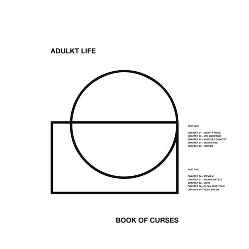 Adulkt Life: Book Of Curses: Limited Edition White Vinyl