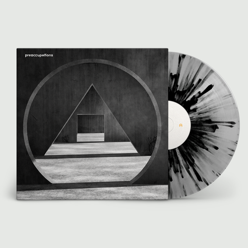 Preoccupations: New Material: Limited Edition Grey + Black Splatter Vinyl