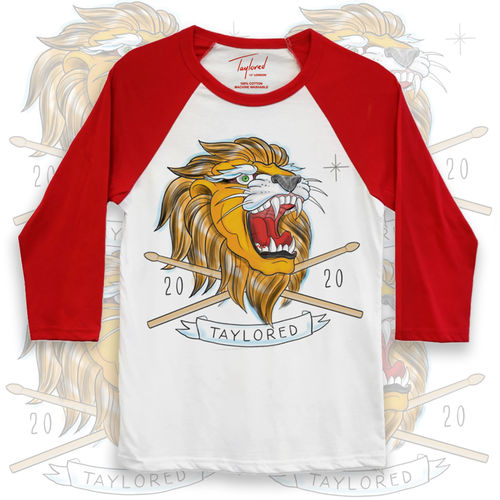 Roger Taylor: Taylored 2020 Lion Red Baseball Shirt