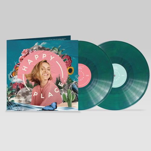 Various Artists: Happy Place: Limited Edition Eco-Mix Vinyl + Signed Artcard