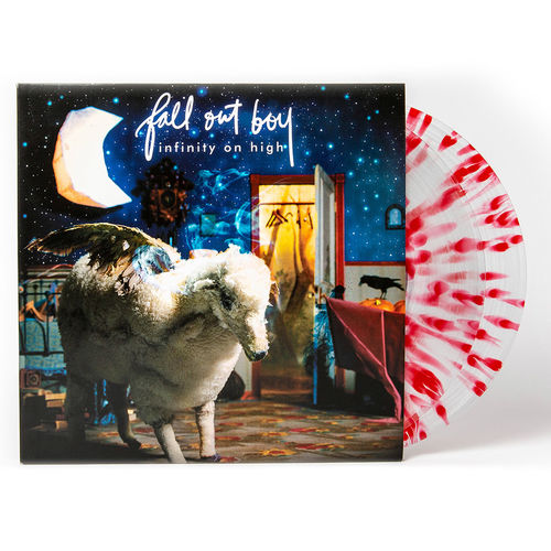Fall Out Boy: Infinity On High: Exclusive - Clear w/ Red Splatter Double Vinyl