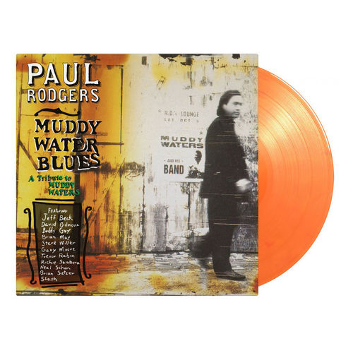 Paul Rodgers: Muddy Water Blues: Limited Edition Orange Vinyl