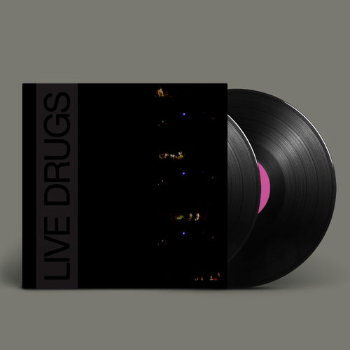The War On Drugs: LIVE DRUGS: Black Vinyl
