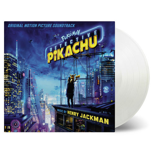 Original Soundtrack: Pokemon Detective Pikachu: Limited Edition Coloured Vinyl