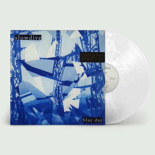 Slowdive: Blue Day: Limited Edition White Marbled Vinyl