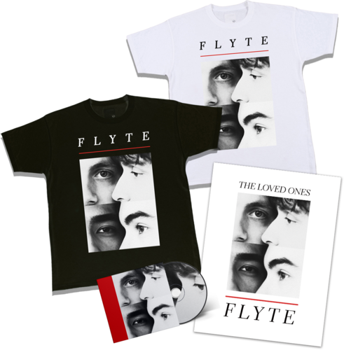 Flyte: Signed CD, Logo T-Shirt + Lithograph