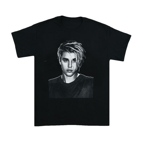 Justin Bieber: Face Black Tee