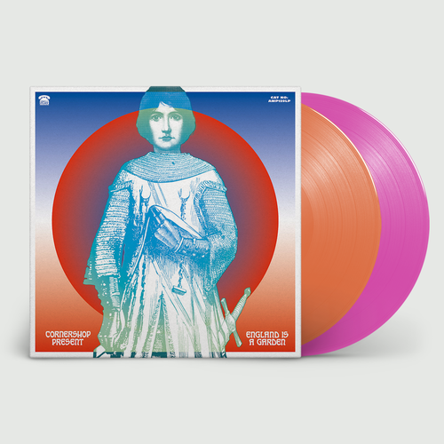 Cornershop: England Is A Garden: Limited Edition California State Orange and Roller Rink Pink Vinyl
