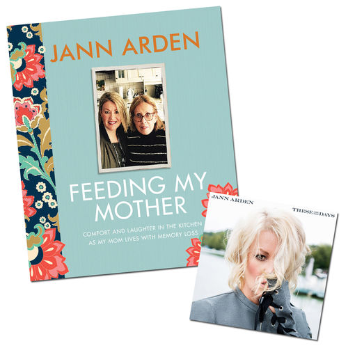 Jann Arden: Feeding My Mother Book & These Are The Days CD Bundle