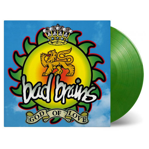 Bad Brains: God Of Love: Limited Edition Green Vinyl