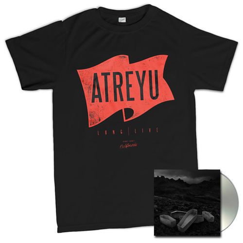 Atreyu: Flag T-Shirt And CD Bundle