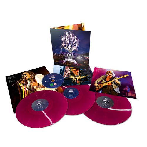 Aerosmith: Rocks Donington 2014: Limited Edition Purple Colour Vinyl