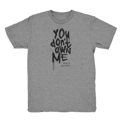 Pale Waves: You Don't Own Me' T-shirt + Black Cassette
