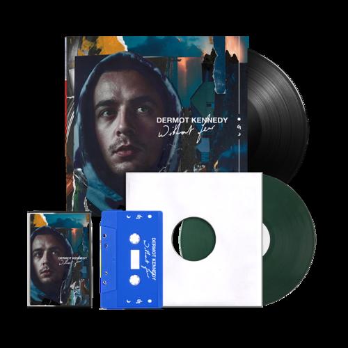 Dermot Kennedy: Without Fear: Exclusive Vinyl + Blue Cassette