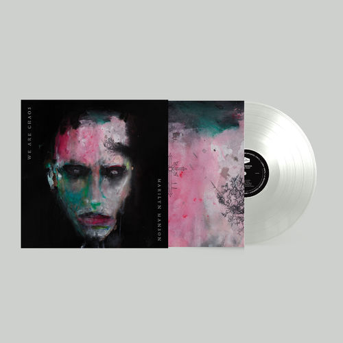 Marilyn Manson: WE ARE CHAOS: Limited Edition White Vinyl + Poster