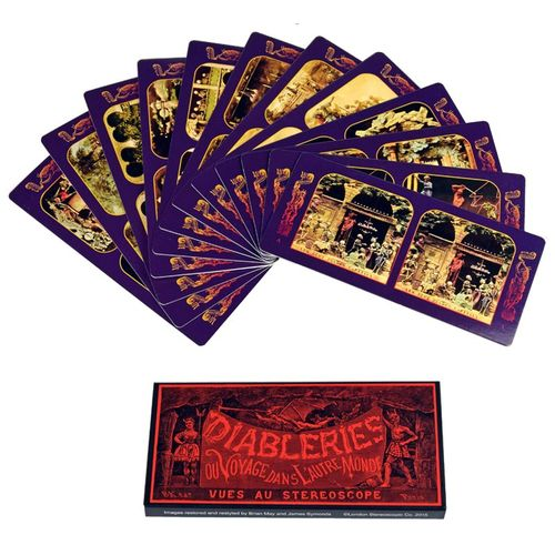 London Stereoscopic Company: Diableries Series A: Set of 12 Stereo Cards (1-12)
