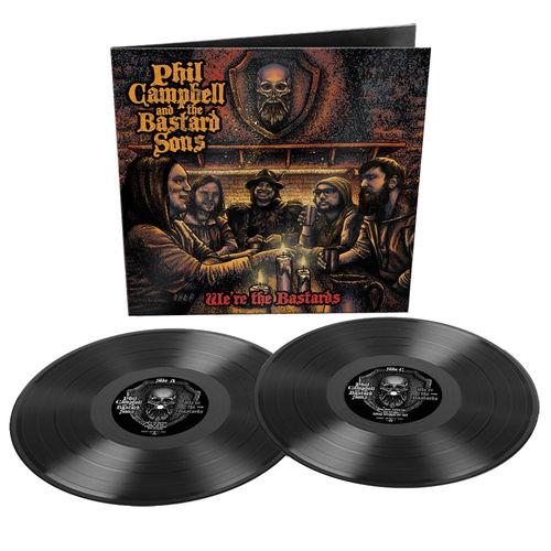 Phil Campbell: We Are The Bastards: Limited Edition Gatefold Double Vinyl