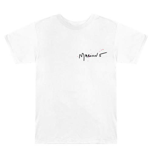Maroon 5: Beautiful Mistakes T-Shirt II