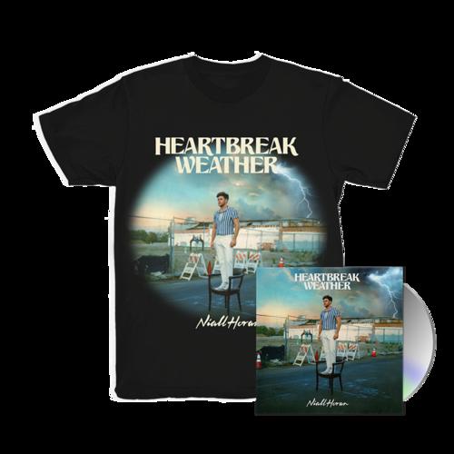 Niall Horan: CD & HEARTBREAK WEATHER BLACK T-SHIRT