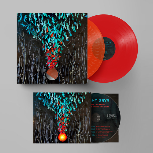Bright Eyes: Down in the Weeds, Where the World Once Was: Limited Edition Transparent Orange + Red Double Vinyl 2LP, CD + Exclusive Signed Print