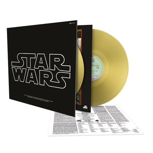 John Williams: Star Wars: Episode IV - A New Hope (Gold Vinyl)