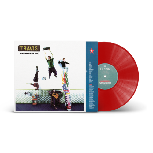 Travis: Good Feeling: Limited Edition Red Vinyl