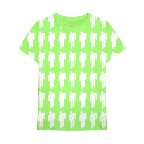 Billie Eilish: Blohsh Pattern Tee