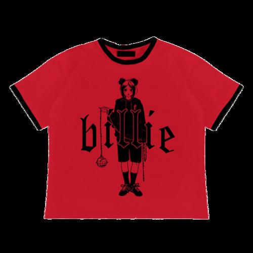 Billie Eilish: Leave Me Alone Ringer T-Shirt