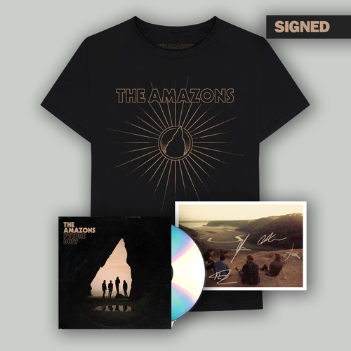 The Amazons: CD, T-Shirt & Signed Postcard