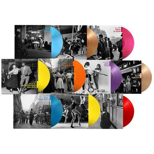 Various Artists: The Doisneau Collection: 10x Coloured Vinyl Bundle